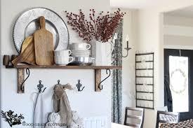 Christmas Kitchen Shelf The Wood Grain Cottage