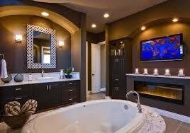 master bathroom color ideas. Brown Master Bathroom Ideas With Lcd Tv Master Bathroom Color Ideas