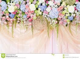 Background Decorations Design Wedding Flowers Background Stock Image Image Of Element