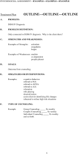 psychosocial assessment example example example pdf amples of strengths articulate empathetic bright ex