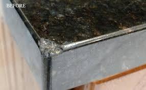 repairing chip in granite countertop granite repair chip in granite countertop edge repairing chip in granite