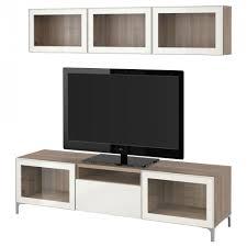 furniture best tv storage combination glass doors black brown