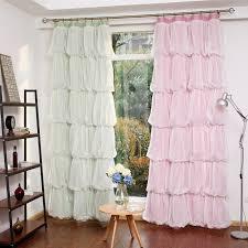 Какви видове текстил за детска стая ще откриете. Sunnyrain 1 Piece Mnogoplastova Princesa Dizajn Zavesa Za Spalnya Pltni Perdeta Za Detska Staya Zavesi Adaptivni