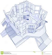 architecture house blueprints.  Architecture Office Decorative Mansion Blue Prints 22 Modern Blueprints Photo House  Blueprint Stock Vector Illustration Of Estate To Architecture