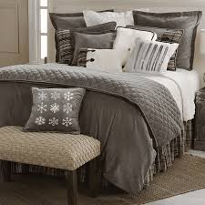rustic bedding silver mountain collection black forest decor