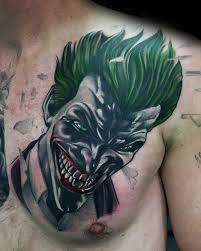 90 Joker Tattoo Pro Muže Ikonické Návrhy Villain Design