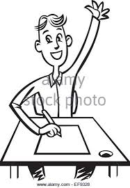 student sitting at desk drawing. Brilliant Desk 500x500 Alegria Student Desk 375x540 Art Drawing Sketch A Sitting Room  Stock Photos Amp For At Desk T