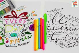 Ready to ship in 1 business day. Inspirational Quotes Colouring Pages For Adults And Kids Mum In The Madhouse