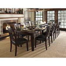 A-America Montreal Rectangular Extension Dining Table - Espresso | Hayneedle