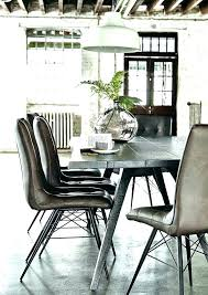 industrial kitchen table furniture. Industrial Dining Room Chairs Amazing Table Decor Leather . Kitchen Furniture
