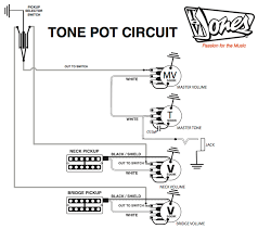 pickup and harness wiring schematics tv jones tone pot schematic