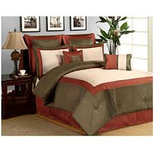 rust colored comforter sets. interesting comforter hotel rust 8 piece comforter set p13588664 with colored sets c