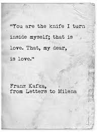 Kafka Quotes Custom You Are The Knife I Turn Inside Myself Franz Kafka Literature