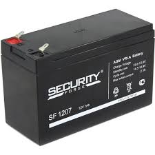 <b>Аккумулятор</b> для охранно-пожарных систем 12V 7Ah <b>Security</b> ...