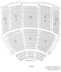 Chester Fritz Seating Chart Seating Chart Chester Fritz Auditorium University Of