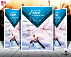 Club Flyer Maker Download] Dance Competition Flyer PSD PsdDaddy 22