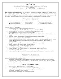 Resume For Sales Sample Resume Sales Marketing Executive Resume