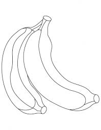 Small Picture 7 best Banana Coloring Pages images on Pinterest Coloring pages