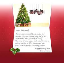 Business Christmas Card Template Holiday Greeting Template Business Business Holiday Card Messages