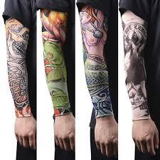 новая горячая вождение солнцезащитная татуировка на руку рукав мужчины женщины