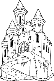 Small Picture New Coloring Page Castle 15 6346