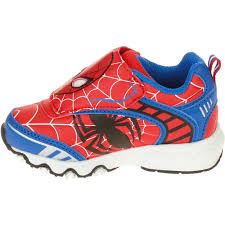 Paw Patrol Light Up Shoes Walmart Licensed Spiderman Spider Man Toddler Boys Athletic Shoe