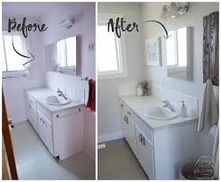 DIY Bathroom Remodel On A Budget (and Thoughts Renovating In Phases) ...  Remodelaholic