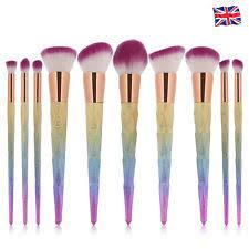 ebay makeup brushes. 10pcs kabuki make up brushes set makeup foundation blusher face powder brush contour ebay