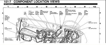 1993 ford mustang lx the problem i am having is that the horn fuses graphic