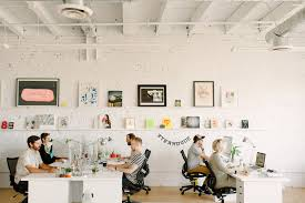Hum Creative  Design and Branding Studio This office is to die for! All  white
