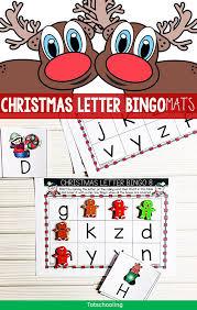 Christmas Alphabet Bingo Game Totschooling Toddler