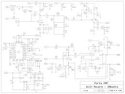 20 watt battery powered guitar amplifier circuit circuit salad on simple audio amplifier schematic