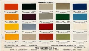 Ppg Alk 200 Color Chart Ariel Farvekoder