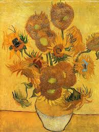 vincent van gogh still life vase with fifteen sunflowers 1888