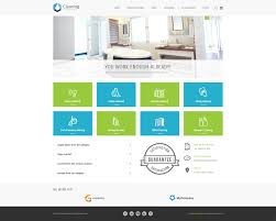 business services template jm cleaning company simple joomla template for a small business website