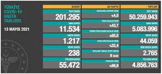 Türkiye'nin 13 Mayıs koronavirüs tablosu açıklandı: Vaka sayılarında düşüş  sürüyor - Yeni Şafak