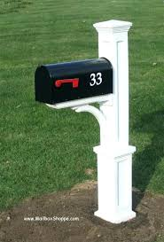 mailbox post ideas. Mailbox Post Plans Installation Rural Ideas .