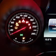 Dashboard Driehoeklampje Brandt Rood Mercedesforumnlbe