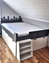Ikea Hack Storage Bed Hack Storage Bench Kids Bedroom Grey And White