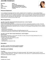 example australian resume write your cover letter travellers contact point