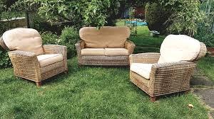 wicker garden furniture suite nottingham