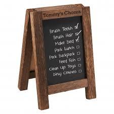 Personalized Chore Chart Chalkboard And Corkboard