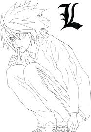 Coloring Death Note Coloring Pages