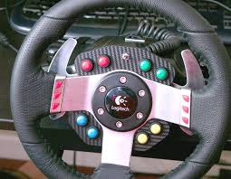 diy logitech g27 steering wheel ons