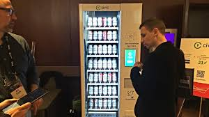 Used Vending Machines Amazon Unique Cryptobeer Vending Machine Promises Blockchainenabled Benders