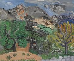raoul dufy 1877 1953 le village et le baou de saint jeannet 20th century paintings christie s