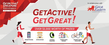 Group Fitness Challenge Tracker Are You Up For The Getactive Getgreat Challenge Activesg