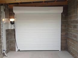 white insulated sws roller garage door aberdeenshire inside garage white electric roller inside garage white electric roller