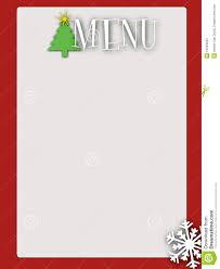 card christmas menu card template christmas menu card template ideas medium size