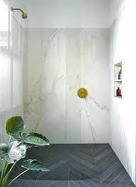 slab shower walls bathrooms